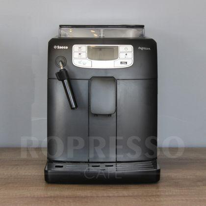 Espressor automat Saeco Intelia HD8751, 15 bar, 1900W, 1.5l, 300gr, rasnita ceramica, negru - Reconditionat