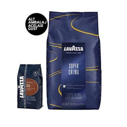 Lavazza Super Crema , cafea boabe 1 kg.
