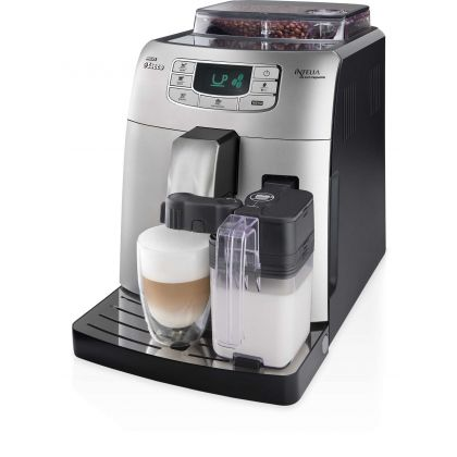Espressor automat Saeco Intelia One Touch Cappuccino, 15bar, 1900w, 1.5l, 300gr - Reconditionat