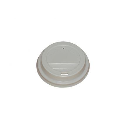 Capac PVC pentru pahar carton 200ml, 100 buc