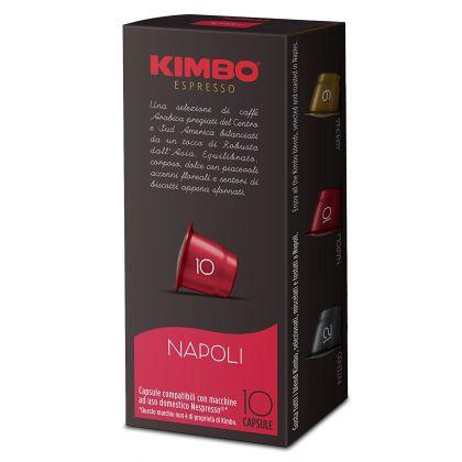 Kimbo Napoli 10 Capsule