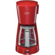 Cafetiera Bosch CompactClass Extra TKA3A034, 1100 W, 1.25 l, 10 Cesti, Rosu