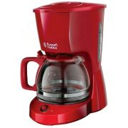 Cafetiera Russell Hobbs 22611-56 Texture, 975W, 1.25 l, 10 cesti, Rosu