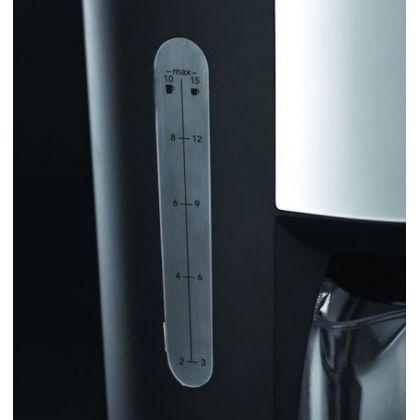 Cafetiera Russell Hobbs 20680-56 Buckingham, 10 cesti, timer programabil de 24 ore, 1.25 l, negru/argintiu