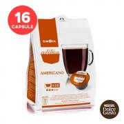 Gimoka Americano, compatibile Nespresso® Dolce Gusto®, 16 buc.