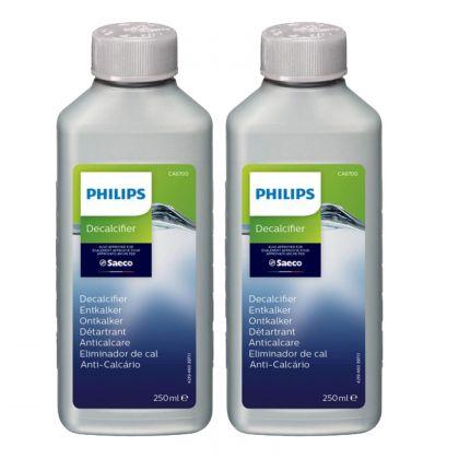 Solutie curatare calcar Philips Saeco CA6700/22 2x250 ml, 2 buc.